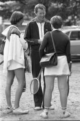 1979 GLTB Club Kamp Geke Fröling Voorzitter Gerard Muntinga Alice Grol